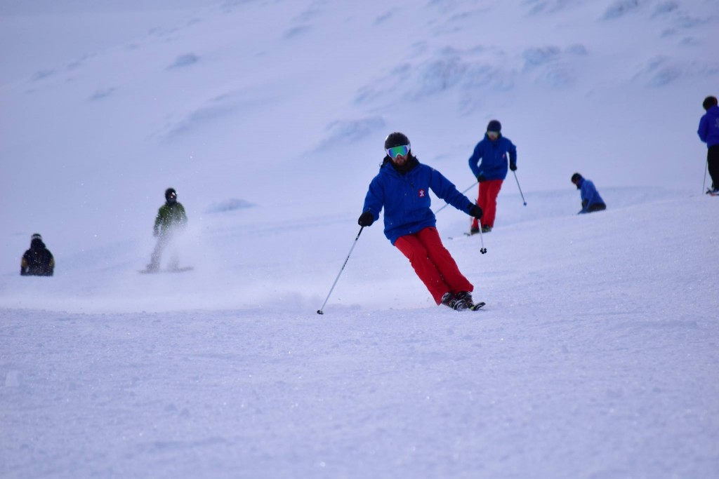 Ski instructor New Zealand