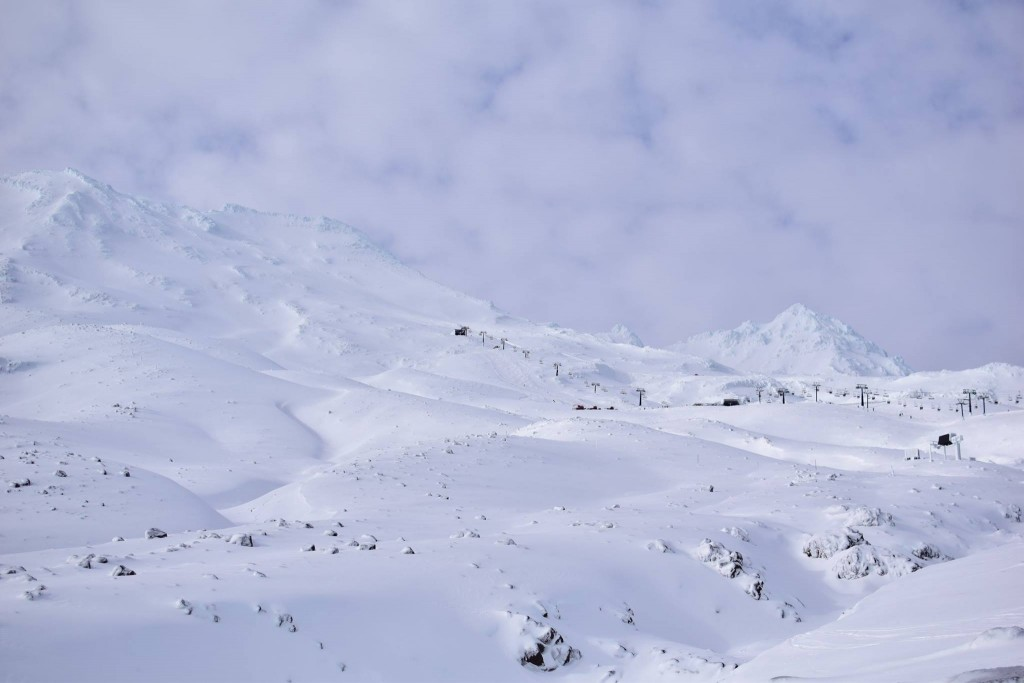 Amazing skiing in Mt Ruapehu