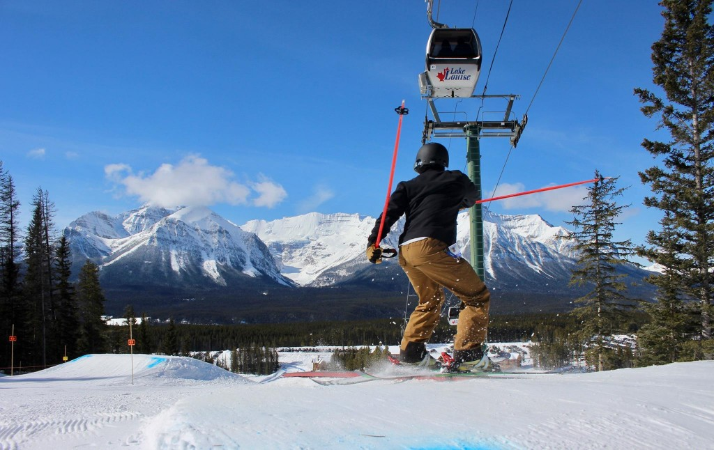 where to go skiing in the summer