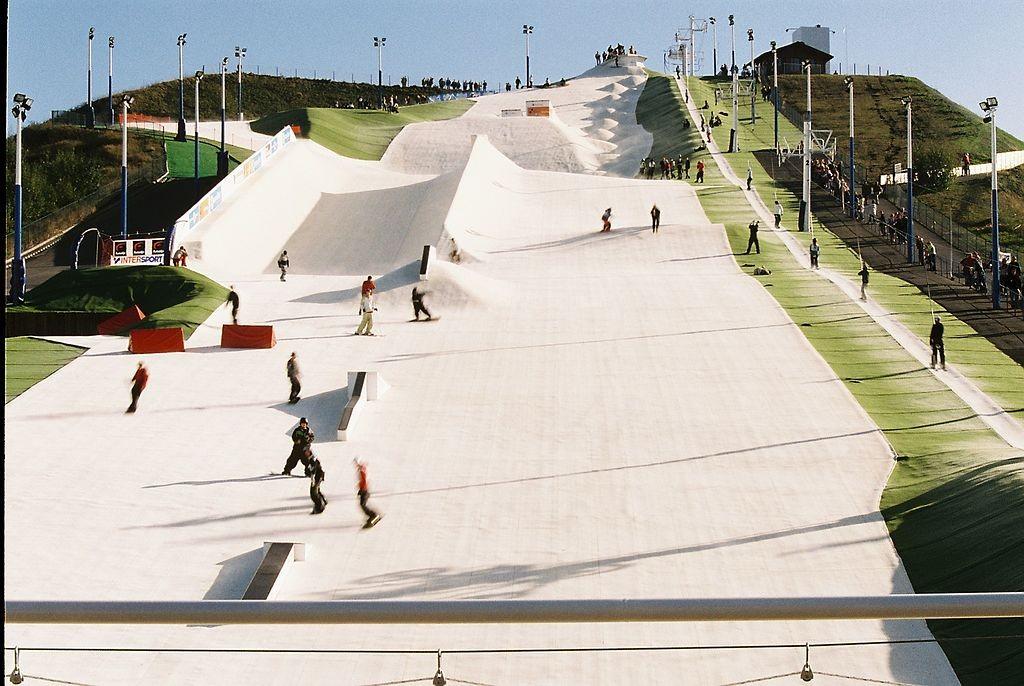 Dry slope ski jobs