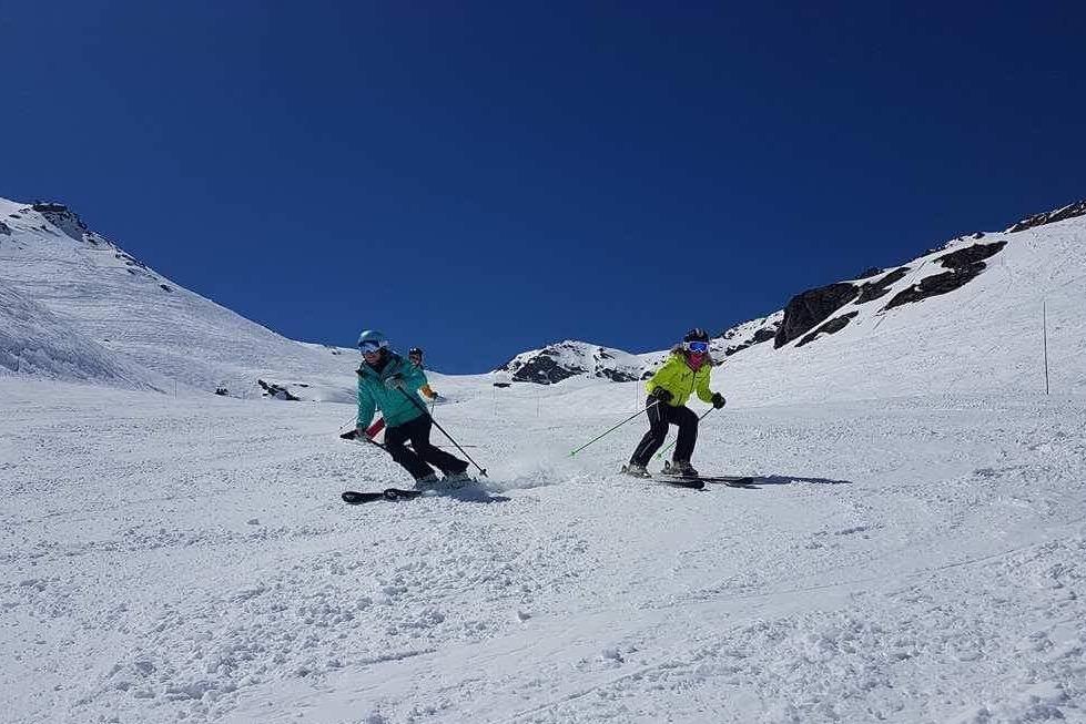 ski rut