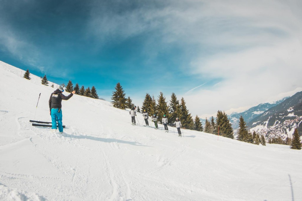 How to be a ski instructor - In a year
