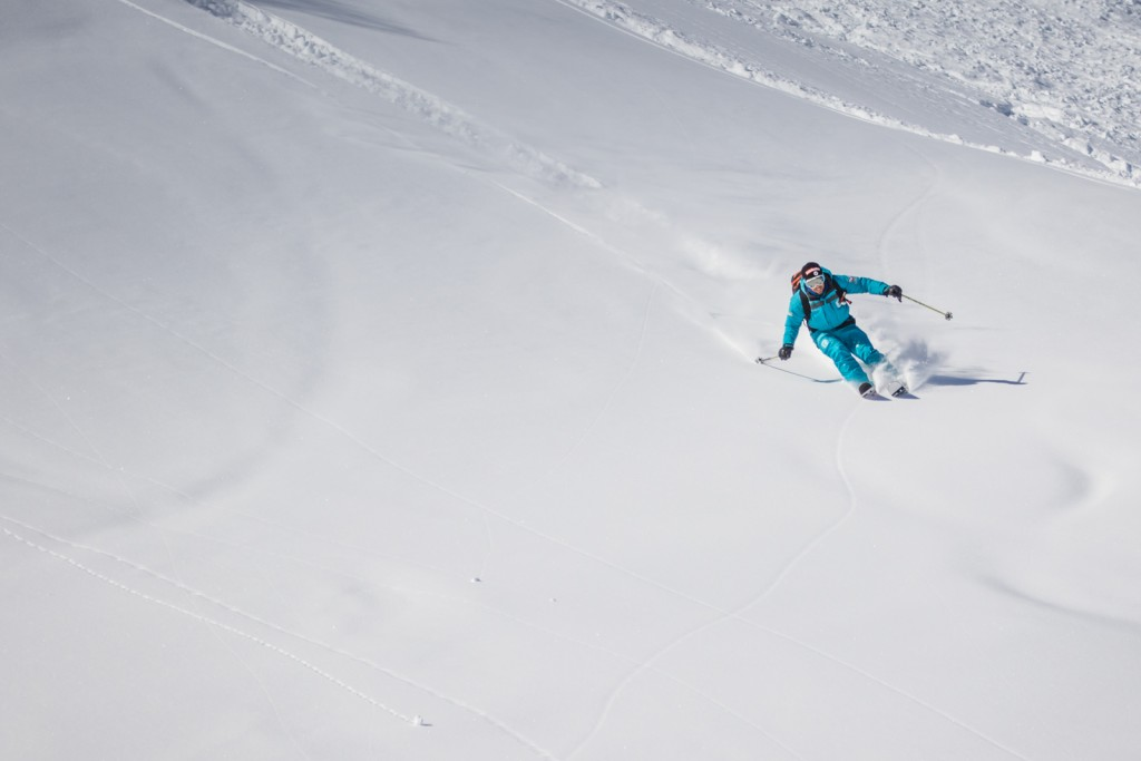 Off-piste skiing - Meribel
