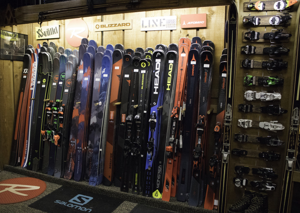 Which ski for your instructor course