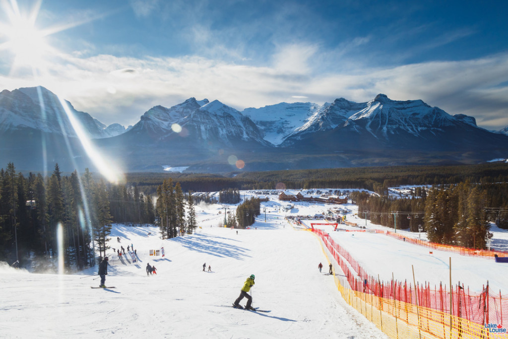 Race Day @SkiLouise