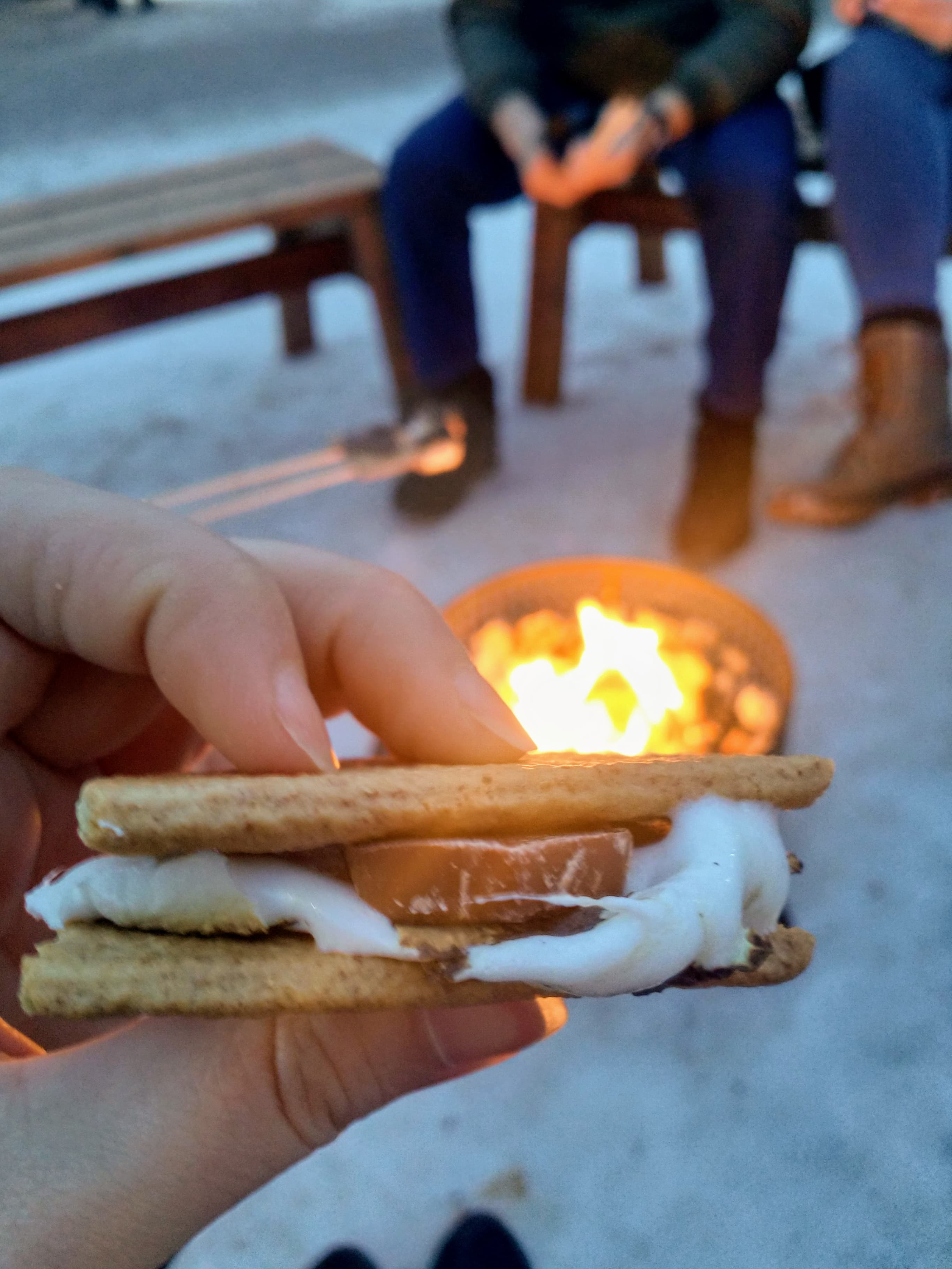 We ate A LOT of S'mores this week!